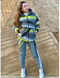 Лыжный костюм SKY серый